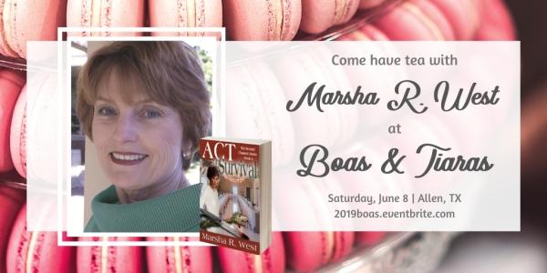 2019 Boas Author Graphic Marsha R. West.