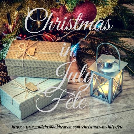 Christmas in July Fête IG or Social Media Graphic